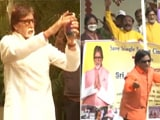 Video : On Birthday, Amitabh Bachchan Greets Fans Outside Jalsa
