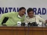Video : The Mics Were Hot: Congress Gossip Session In Karnataka Is, Well, Awkward