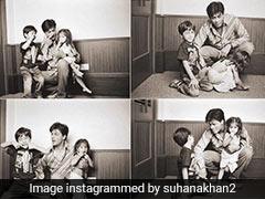After Aryan Khan's Bail, Sister Suhana's 3-Word-Post With Childhood Pics
