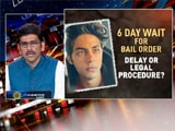 Video : 6-Day Wait for Aryan Khan's Bail Order: Legal Procedure Or Delay?
