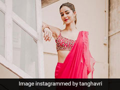 Ananya Panday Lends Her Sass And Spunk To A Pre-Draped <i>Saree</i> This Festive Season