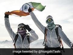 India's 'Everest Twins' Summit Swiss Alps In Women-Only Peak Challenge