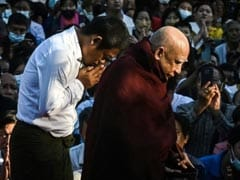80-Year-Old Monk's Reappearance Brings Solace In Coup-Hit Myanmar
