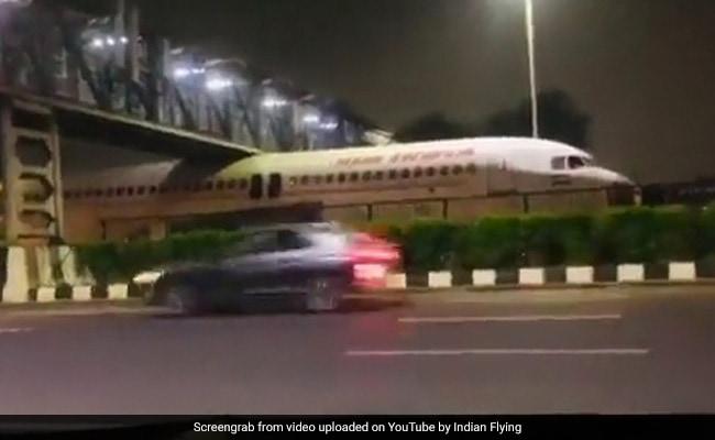 , Viral Video: Air India Plane Gets Stuck Under Bridge Near Delhi Airport, The World Live Breaking News Coverage & Updates IN ENGLISH