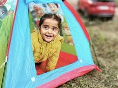 """Gul Panag Went Camping With Son Nihaal. He Was In His """"Own Tent Most Of The Day"""""""