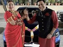ICYMI: Govinda Gifted Wife Sunita A BMW Car On Karwa Chauth