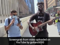 Watch: New York YouTuber Asks Strangers To Sing With Him. <i>Desi</i> Man Steals The Show