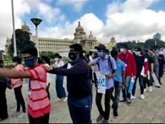 Bengaluru Group Walks Blindfolded To Spread Awareness On World Sight Day