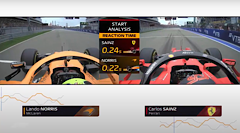 F1 & AWS Unleash Start Analysis Insight To Show Viewers Who Is Fastest Off The Grid