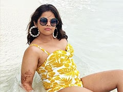 """""""When Is Your Divorce?"""": What Trolls Told Actress Vidyulekha Raman On Swimsuit Pic"""