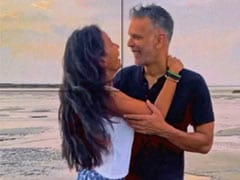 Just A Video Of Milind Soman And Ankita Konwar Being Mushy On A Beach