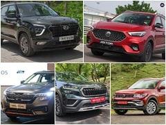 MG Astor vs Hyundai Creta vs Kia Seltos vs Skoda Kushaq vs Volkswagen Taigun: Price Comparison