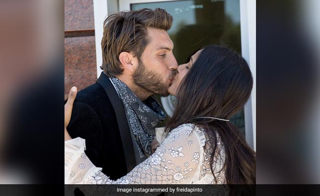 Trending: A Year Later, Freida Pinto Shares Pics Of Impromptu Wedding. The Venue Was...