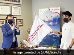 Aviation Minister Flags Off Alliance Air Flight Connecting 3 Northeastern Cities