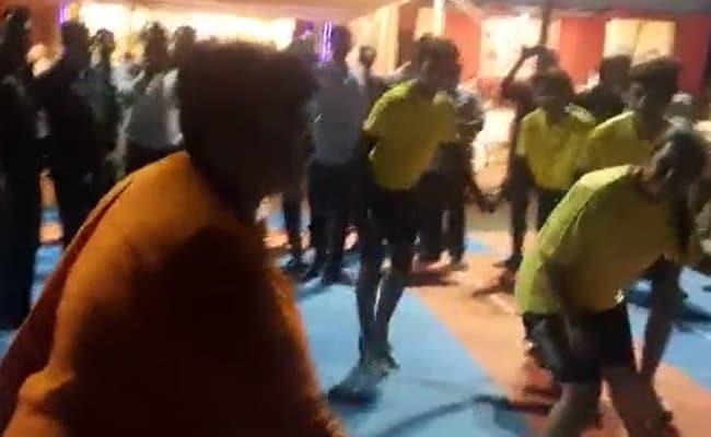 After Garba Dance, BJP's Pragya Thakur Plays Kabaddi