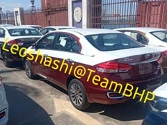 Ciaz-Based Toyota Belta Sedan For The Export Market Spotted In India