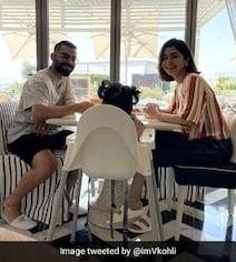 Virat Kohli Enjoys Breakfast With Anushka Sharma, Vamika In Dubai