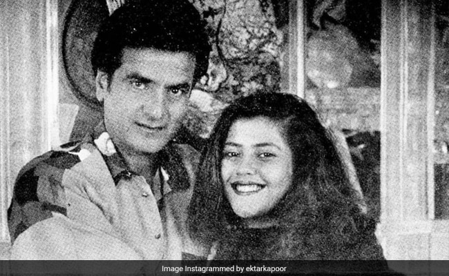 'Throwback And How': Ekta Kapoor Shares Priceless Pic With Dad Jeetendra