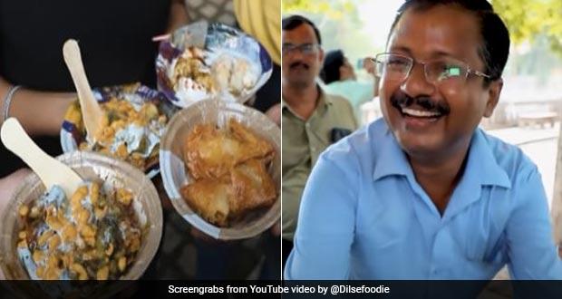 Uncanny! This Gwalior Chaat Seller Resembles Delhi CM Arvind Kejriwal