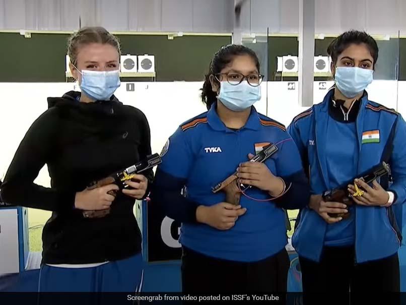 ISSF Junior World Championship: Indias Naamya Kapoor, 14, Wins Womens 25m Pistol Gold