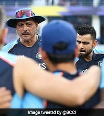 T20 World Cup: India Players Take The Knee Ahead Of Pakistan Game