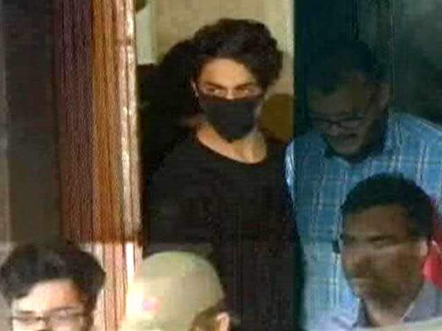 Video : SRK's Son, Aryan, In Court Today After Arrest In Drugs-On-Cruise Case