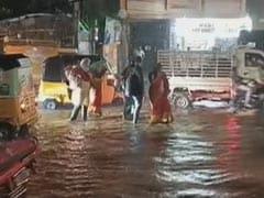 Restaurant Flooded, Pick-Up Truck Swept Away: Hyderabad Horror In Videos