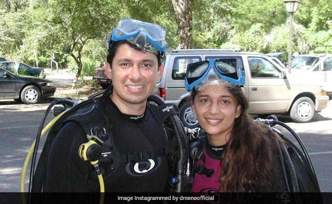 When Madhuri Dixit Learned Scuba Diving In A 'Hot Parking Lot' During Summer In Florida