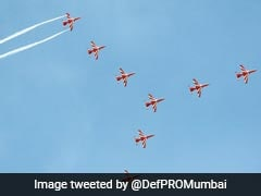 """""""<i>Mumbaikars</i>, Get Your Cameras"""": Air Force Aerobatic Team To Hold Flypast"""