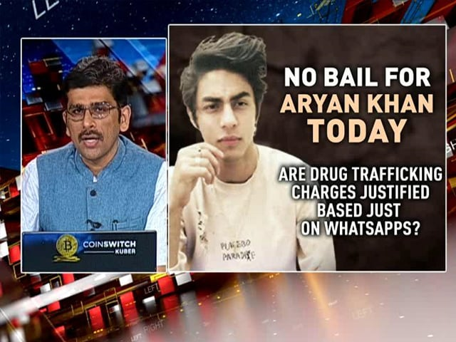Video : No Bail For Aryan Khan As Investigators Claim He Trafficked Drugs