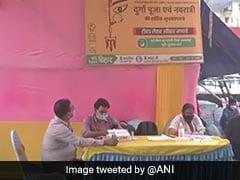 Bihar Sets Up Covid Vaccination Camps At Durga Puja Pandals