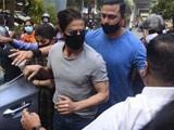 Video : Actor Shah Rukh Khan Meets Son Aryan Khan In Mumbai Jail