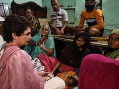 Priyanka Gandhi Visits Home Of UP Man Who Died In Custody, Promises Help