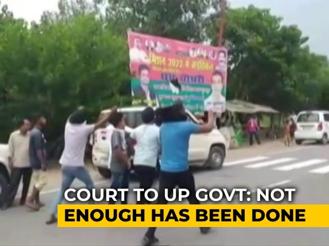 """Video : Farmers' Killing: """"Seems Action Not Being Taken,"""" Supreme Court Tells UP"""
