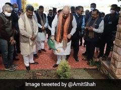 Amit Shah Reaches Jammu, Inaugurates New Campus Of IIT