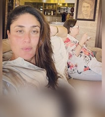 In Kareena's Post Featuring Mom, A Glimpse Of Her Dad Randhir's New House