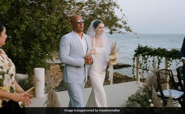 Vin Diesel Walked Paul Walker's Daughter Down The Aisle At Her Wedding. It's OK To Cry