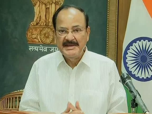 Video : Human Health Intricately Connected To Health Of Planet: Vice President M Venkaiah Naidu