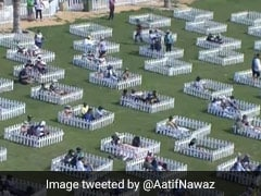 """Watch: Spectators Witness Match At Abu Dhabi Stadium From """"Socially Distanced Family Pods"""""""
