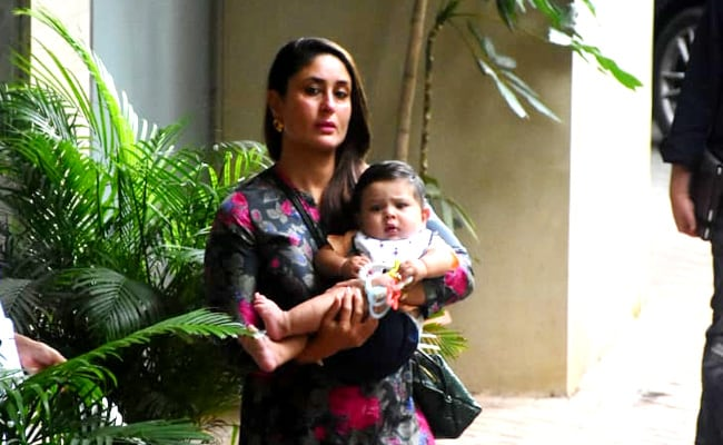 'Your Cheeks And Cuddles Complete Me': Kareena Kapoor Stopped Short Of Posting An Entire Pic Of Baby Jeh. See Inside