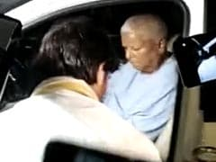 Tej Pratap's Welcome For Father Lalu Yadav After Day Of High Drama