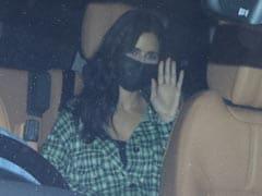Katrina Kaif And Rumoured Boyfriend Vicky Kaushal Visit Manager Reshma Shetty's Office. See Trending Pics