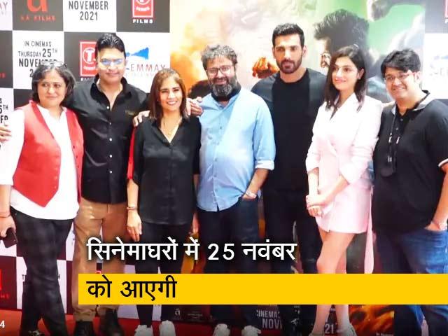 Video : जॉन अब्राहम और दिव्या खोसला की फिल्म 'Satyameva Jayate 2' का ट्रेलर लॉन्च