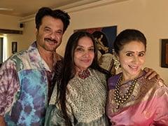 Inside Shabana Azmi, Urmila Matondkar And Anil Kapoor's Get-Together