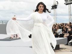 Aishwarya Rai Is An Enigma In White For Paris Fashion Week 2021