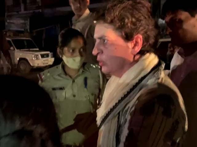 """Video : """"This Is Kidnapping, Isn't It?"""" Priyanka Gandhi Speaks To NDTV From UP Police Custody"""