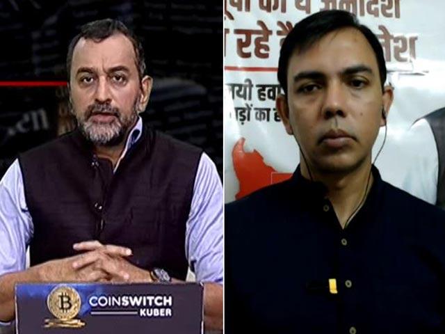 Video : 'PM Twiddling His Thumbs On UP Violence': Samajwadi Party Leader Ghanshyam Tiwari