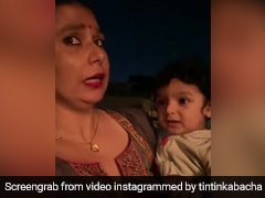 Adorable Baby Chooses To Eat Cake Over Roti Sabzi, Foodies Can Relate