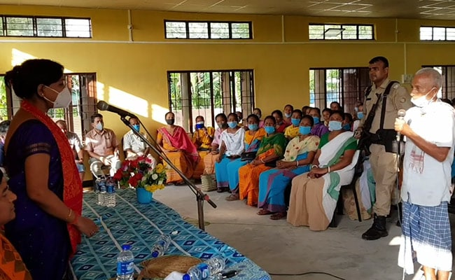 No Covid Case In Assam's Remote Area, But Officials Fight Vaccine Hesitancy