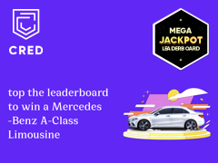 CRED Leaderboard October 4: Use Your CRED Coins And Win A Mercedes-Benz A-Class Limousine